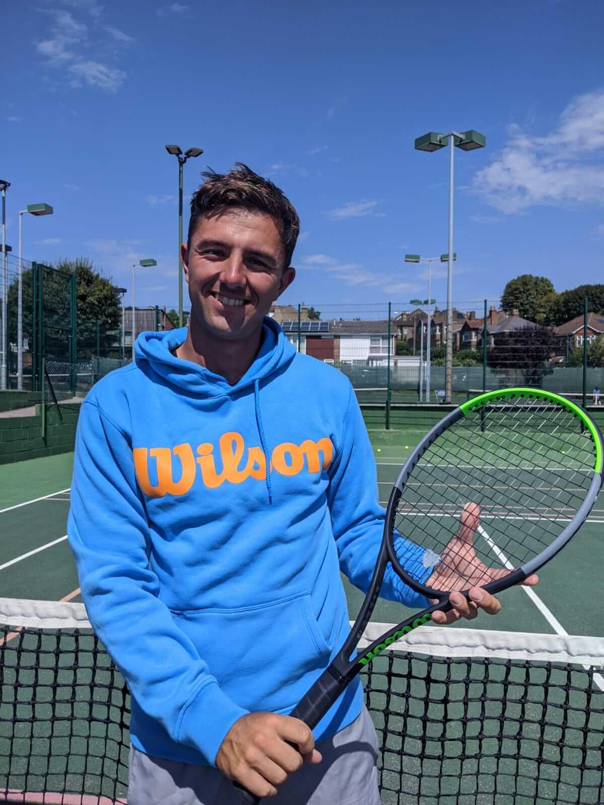 Tom Smith Tennis Coach