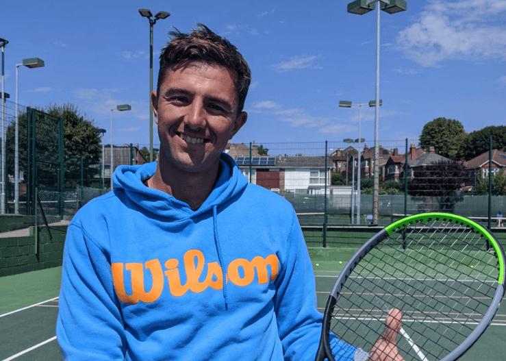 Tom, tennis coach for kids at Kings Tennis Club Bristol