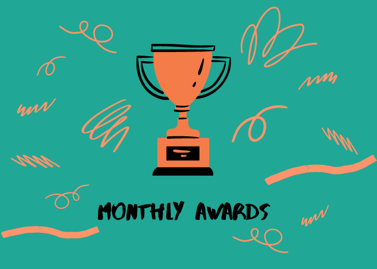 Monthly Tennis Awards