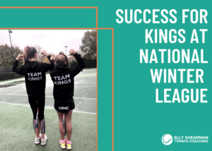 Success for Kings Tennis squad.