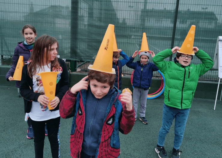 Accessible tennis activities for SEND children.