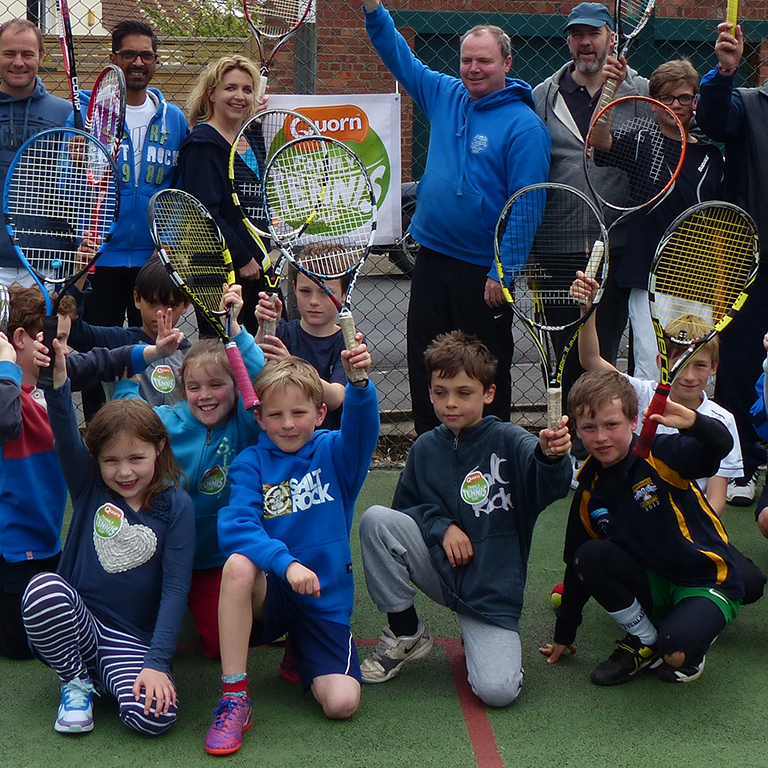 Green Ball Tennis Sessions for Under 9s
